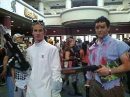 Dr. Horrible and Ash Williams by jasoncrazyfangirl