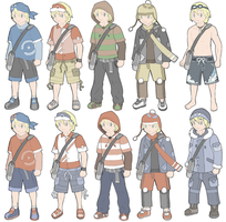 Trainer Outfits by Kyle-Dove