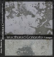 UNRESTRICTED - Weathered Concrete Textures by frozenstocks