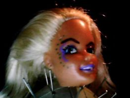 Barbie Head Repaint Part 1 by I-Major-In-Magick
