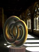 11-12-12 Sculpture in the cloister by bjman