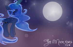 Luna The Moon Rises by DesireeDrawings