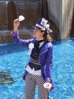 A Mad Hatter in a lolita world by darkambrosia