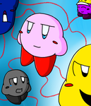 Kirby: The Dee Army! Fanart by contradiction123