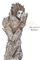 Haarhus beyond mask sketch by Katakiri