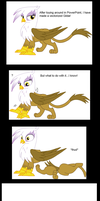 What happens when I make a vector of Gilda by ZarelTheWindDragon