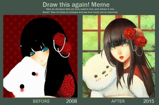Meme: Before And After by lireon