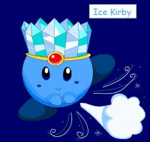 Ice Kirby by Bowser2Queen