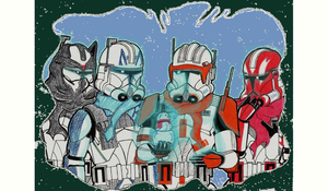 TCW Christmas on the Front by Dominic-Skirata-X