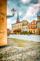 main square by marrciano