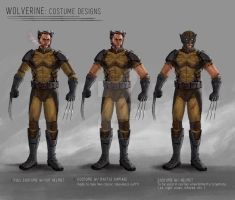 Wolverine Costume Designs / Concept Art by JamesBousema
