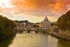 Ponte Sant Angelo by fotomanisch