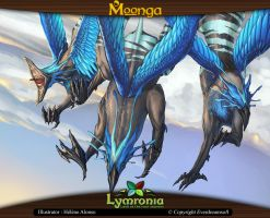Moonga - Group of Griffins by moonga