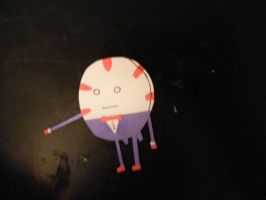 Paper Peppermint Butler by CoolestNinja1242