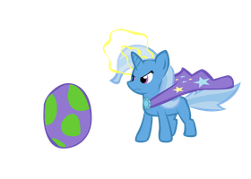 Trixie does something magical by RedEnchilada