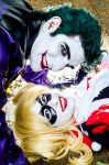 Auntie Harley and Uncle Joker. by LaisAbove