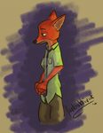 Nick Wilde by Farbaktivist