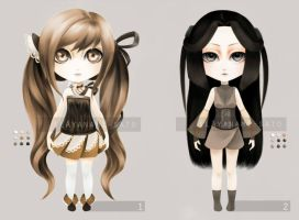 adopts - closed! (Auction) by ilAyanami-sato