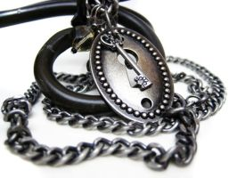 Unique Keyhole Necklace by pila12903