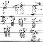 Study Hall Chibi Doodles~ by TheBestGingerNinja