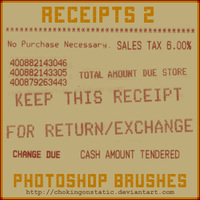 receipt brushes 2 by chokingonstatic