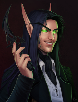 Commission: Aiden Ras'vanae by ultema