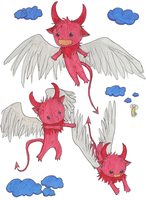 Level Up: Winged-Charz by Juunshi