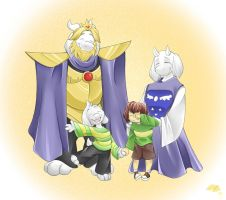 Two Worlds, One Family by Aeyembe