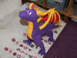 Spyro plush V2.0 by Dark-Dragon-Spirit