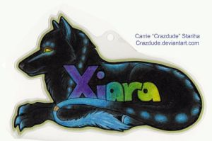 Xiara Badge by Crazdude