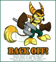Back Off - Ratchet by MiraKHall
