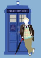 Seven and the TARDIS by HaddonArt