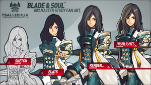 003 Blade and Soul Process by tsaileehua