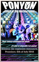 PonyOn: Attack of the mecha-clones by WaWor