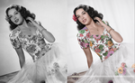 Linda Darnell - Colorized by candido3d