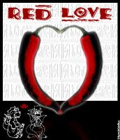 Red Love by IdeandoGrafica