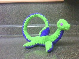 Nessie the sea monster by SunFireDemon