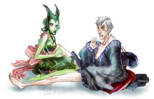 Maleficent and Frollo by Disney-Funker