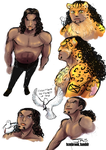 Lucci Doodles by TemBrook