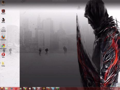 Prototype Windows 7 Theme by yonited