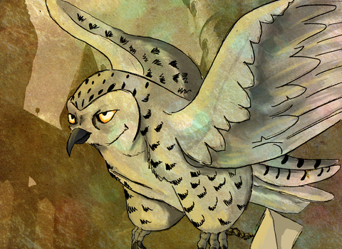 Hedwig by X-x-Magpie-x-X