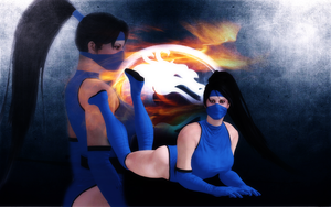 Kitana with new hair (DOWNLOAD) by ScareMeBeautiful