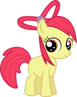 Applebloom's new mane by MilekHippy