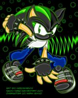 Request :: Dark Sonic by Neon-Nazo