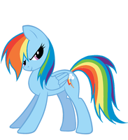 Rainbow Dash!!! by Dribmeg