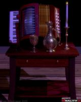 Accordion By Candlelight by Shango-ThunderStones