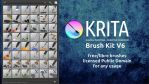Krita brushes pack, version 6 by Deevad