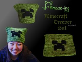 Amazeing Minecraft Creeper Hat by Amaze-ingHats