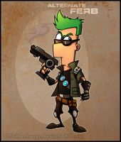 PnF - Epic Ferb by RatchetMario