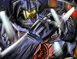 Gypsy Danger by GLOBALPREDATORx